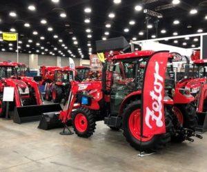 Americké publikum ocenilo nový design traktorů Zetor