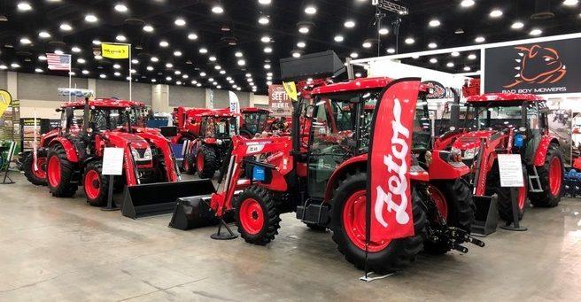 Traktory Zetor v USA
