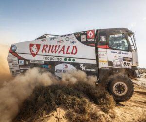 Ve 4. etapě Maroko Desert Challenge zažila posádka MKR Technology přetížení 7G