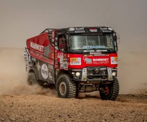Kamion MKR ovládl v Maroku 5. etapu