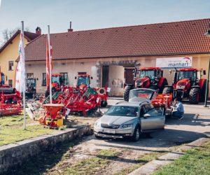 Traktory Zetor na dnech otevřených dveří dealerů