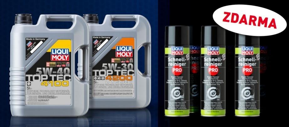 Rychločistič Pro k nákupu olejů Liqui Moly u ADIPu