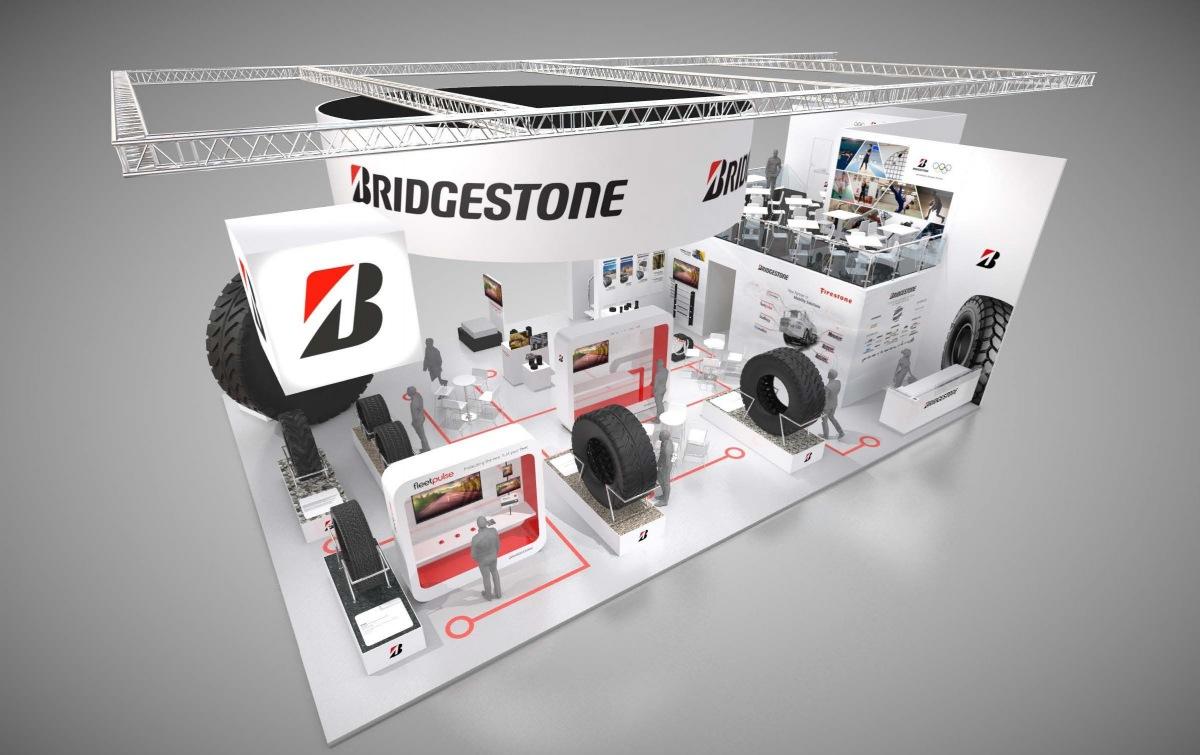 Bridgestone na veletrhu BAUMA 2019