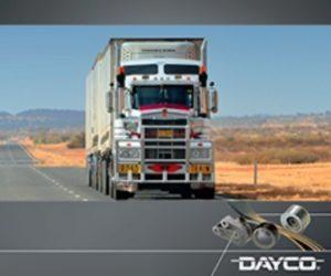 Dayco rozšiřuje portfolio produktů pro těžká vozidla