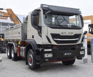 Iveco představuje na veletrhu Bauma 2019 širokou nabídku vozidel určených pro stavební průmysl