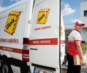 Otevření balíkového depa Geis v Praze – Štěrboholech
