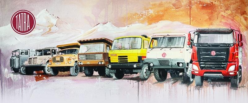 Kopřivnická automobilka slaví 100 let značky Tatra