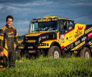 Macík poprvé ukázal Karla, nový kamion pro Dakar 2020