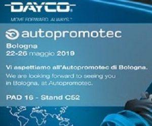 Dayco představuje produkty na Autopromotec 2019