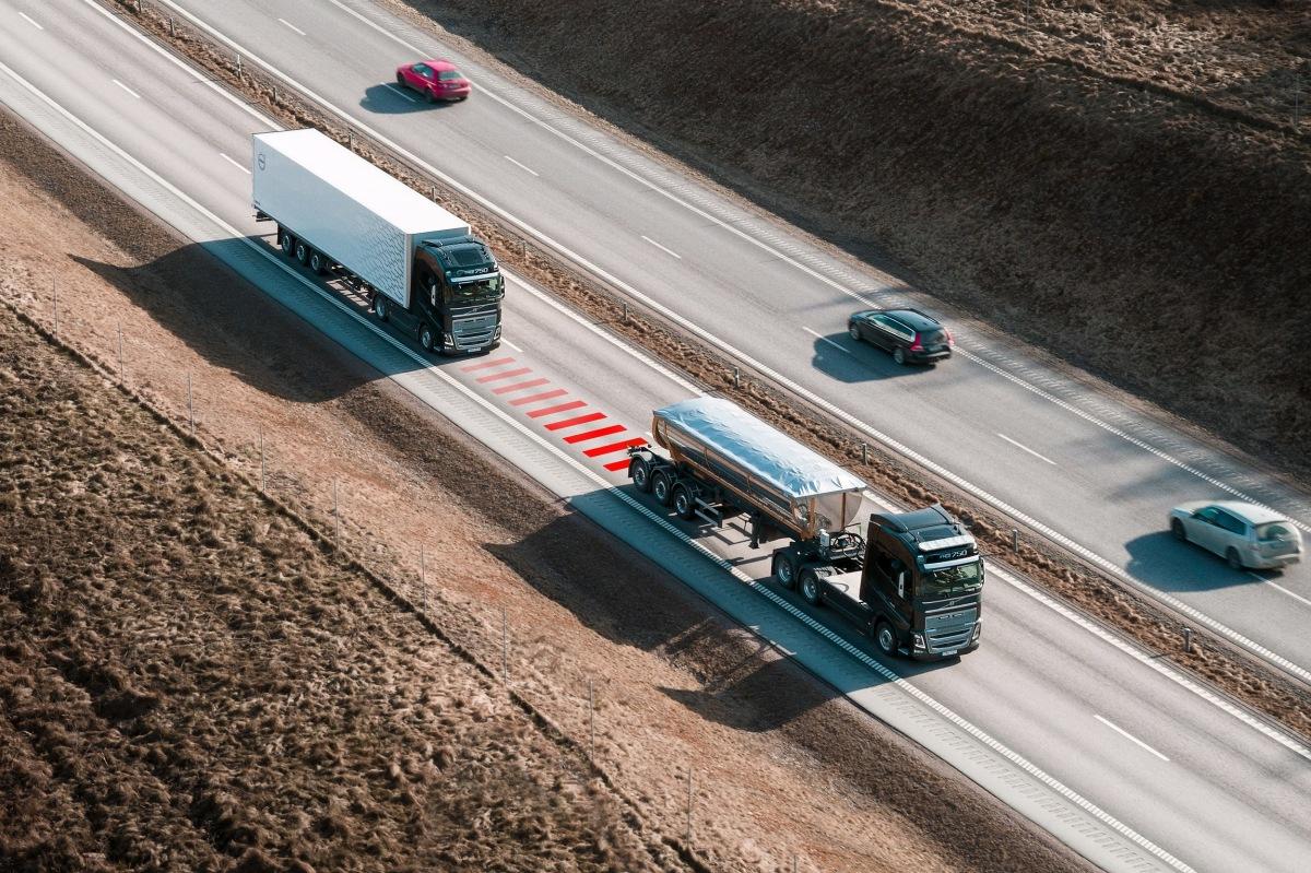 Nové řešení bezpečnosti od Volvo Trucks