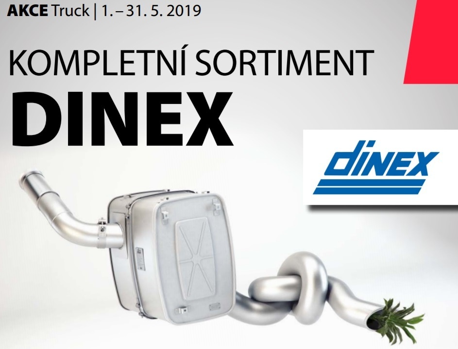 Poukázky Sodexo k nákupu dílů Dinex u ELitu