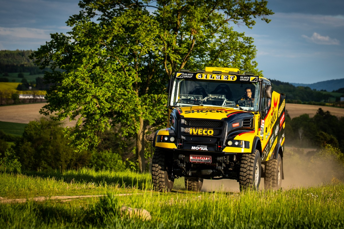 Karel, nový kamion pro Dakar 2020