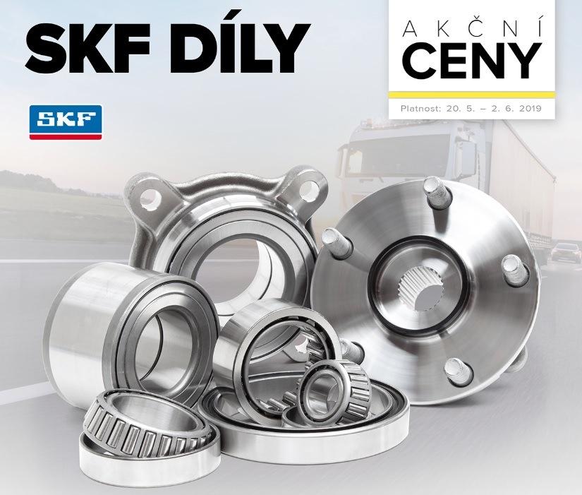 SKF díly za akční ceny u Auto Kelly