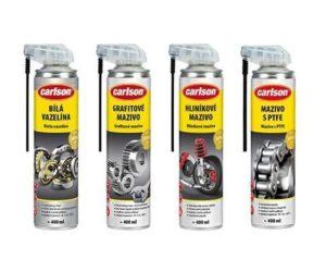 Nové produkty značky Carlson