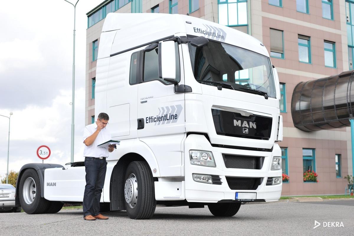 Proces přípravy řidiče kamionové dopravy