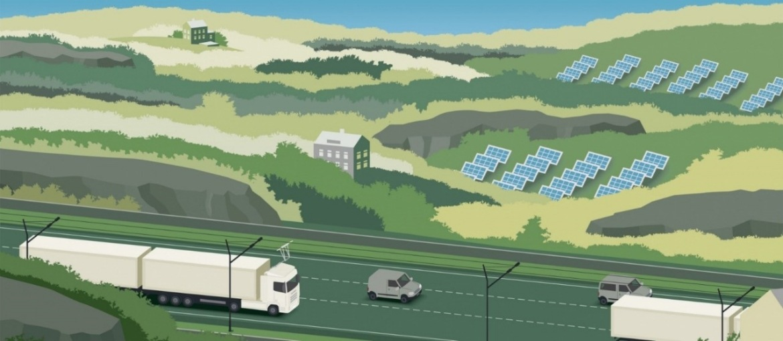 Jak funguje elektrifikovaná dálnice dle Scania