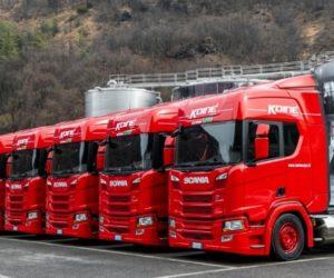 Přehled hospodaření společnosti Scania za období leden – březen 2019