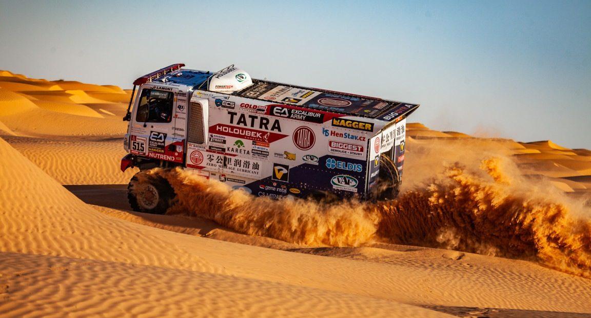 Dakarské testování Buggyra Racing