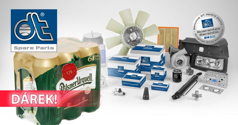 Akce na DT Spare Parts