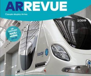 Letošní druhé číslo časopisu ArRevue skupiny Arriva
