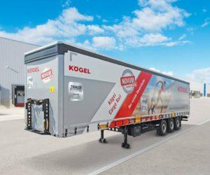 Kögel představuje návěs Cargo Rail generace NOVUM