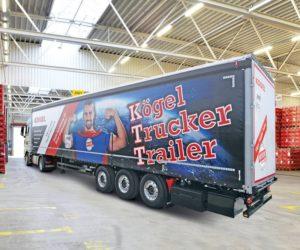 Na veletrhu transport logistic představena další varianta návěsu Kögel Trucker Trailer