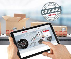 Optimalizovaný obchod s náhradními díly Kögel Parts Shop přichází s novým inteligentním řízením záruk