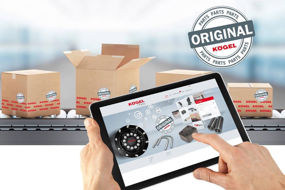 Kögel Parts Shop – 24-hodinový online poradce