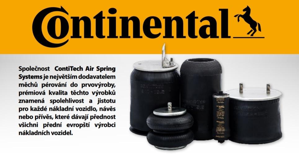 Akční ceny na pneumatické měchy pérování Continental u Elitu