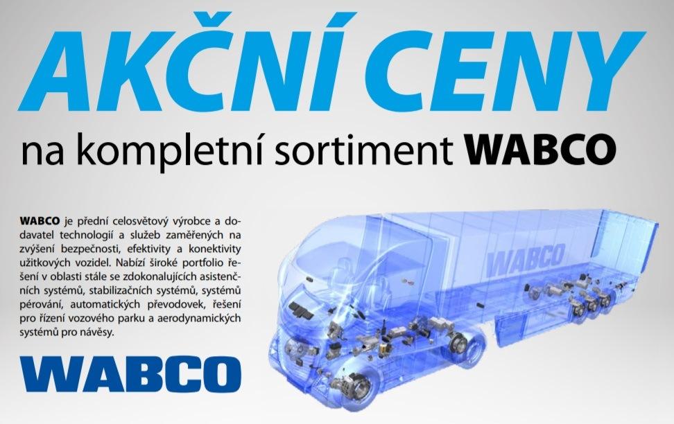 Akční ceny na kompletní sortiment Wabco u Elitu