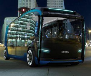 Revoluce v městské dopravě – nový koncept NXT společnosti Scania