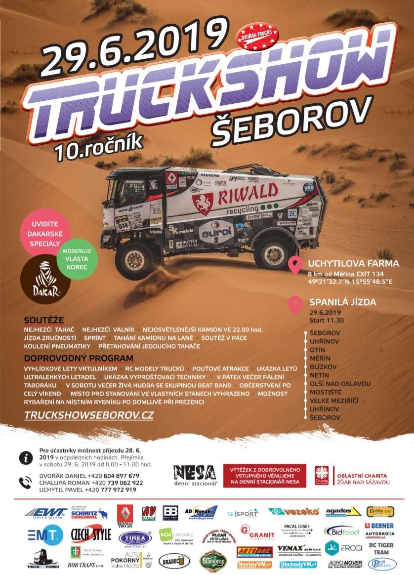 Truck show 2019 Šeborov