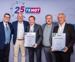 Firma Temot International ocenila Valeo za dlouholetou spolupráci