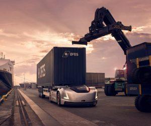 Společnost Volvo Trucks představuje autonomní přepravu Vera