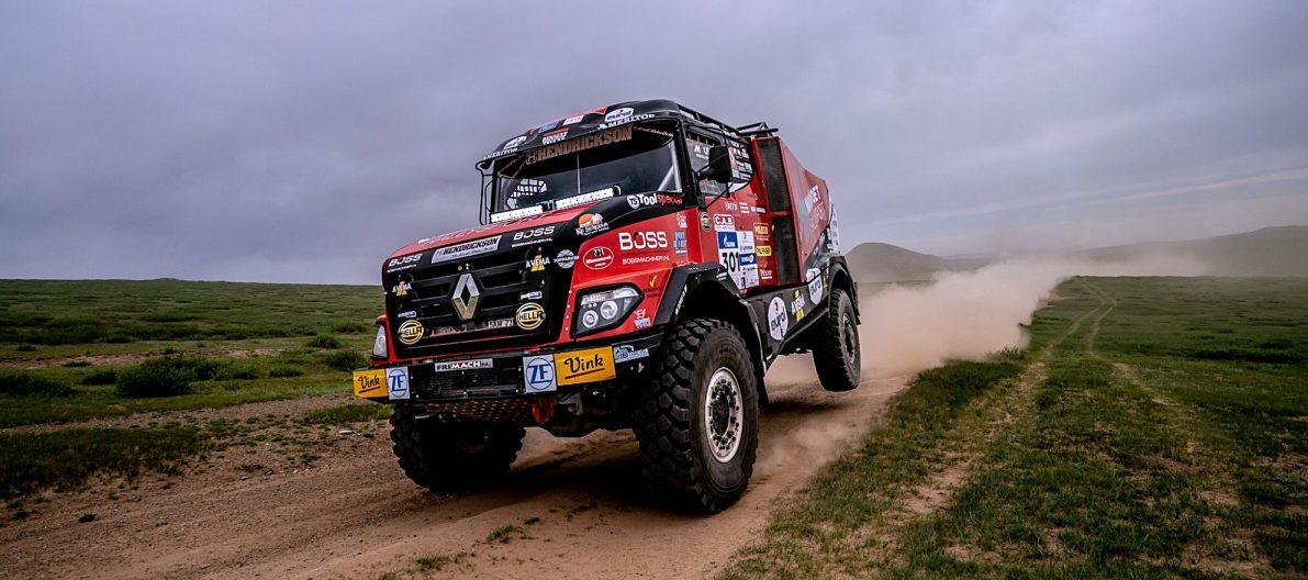 Van den Brink ve 4. etapě Silk Way Rally