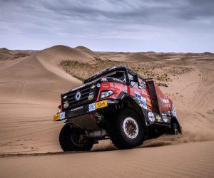 Čínská etapa Silk Way Rally mění pořadí