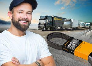 Rozšíření programu řemenů Continental pro užitková vozidla