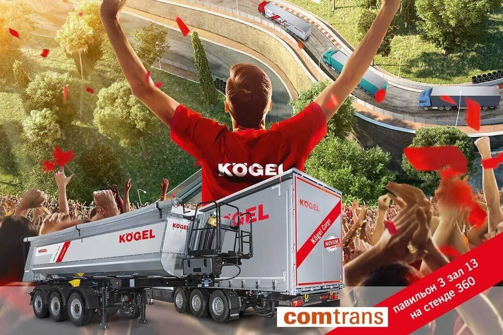 Společnost Kögel představí své ruské portfolio na veletrhu Comtrans