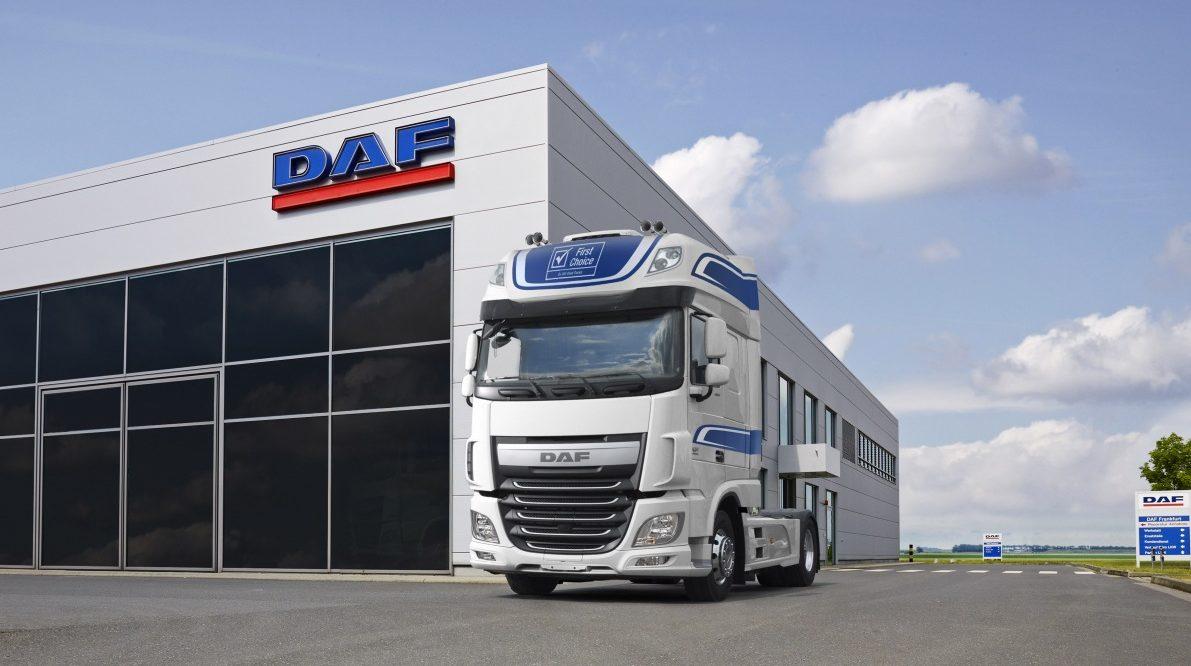 Zánovní vozidla DAF First Choice s plnou zárukou