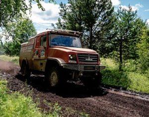 MAZ s motory Gyrtech zatím vládne Silk Way Rallye