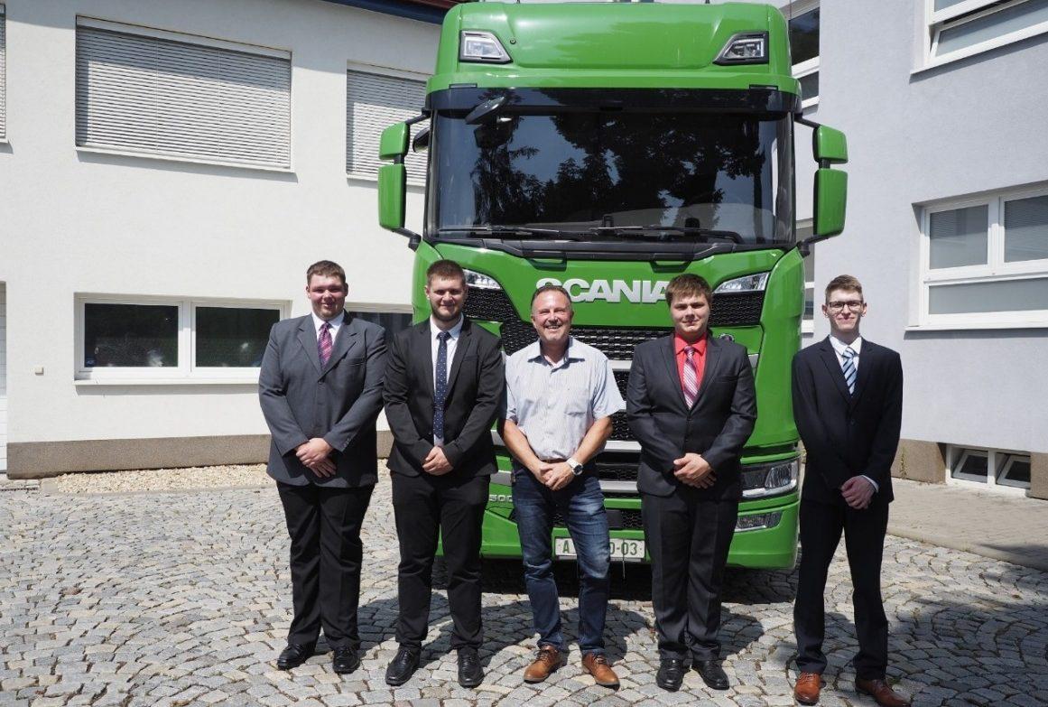 Projekt Mladí profesionálové od firmy Scania