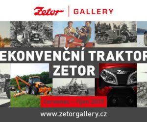 """Výstava """"Nekonvenční traktory Zetor"""""""