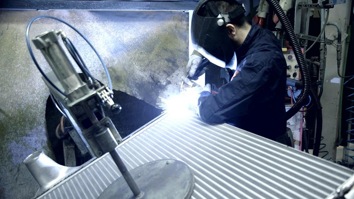 chladiče AVA CEE jsou vyráběny technologií vakuového pájení
