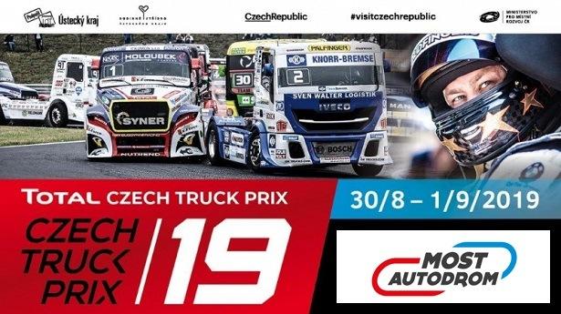 Pozvánka na Czech Truck Prix 2019