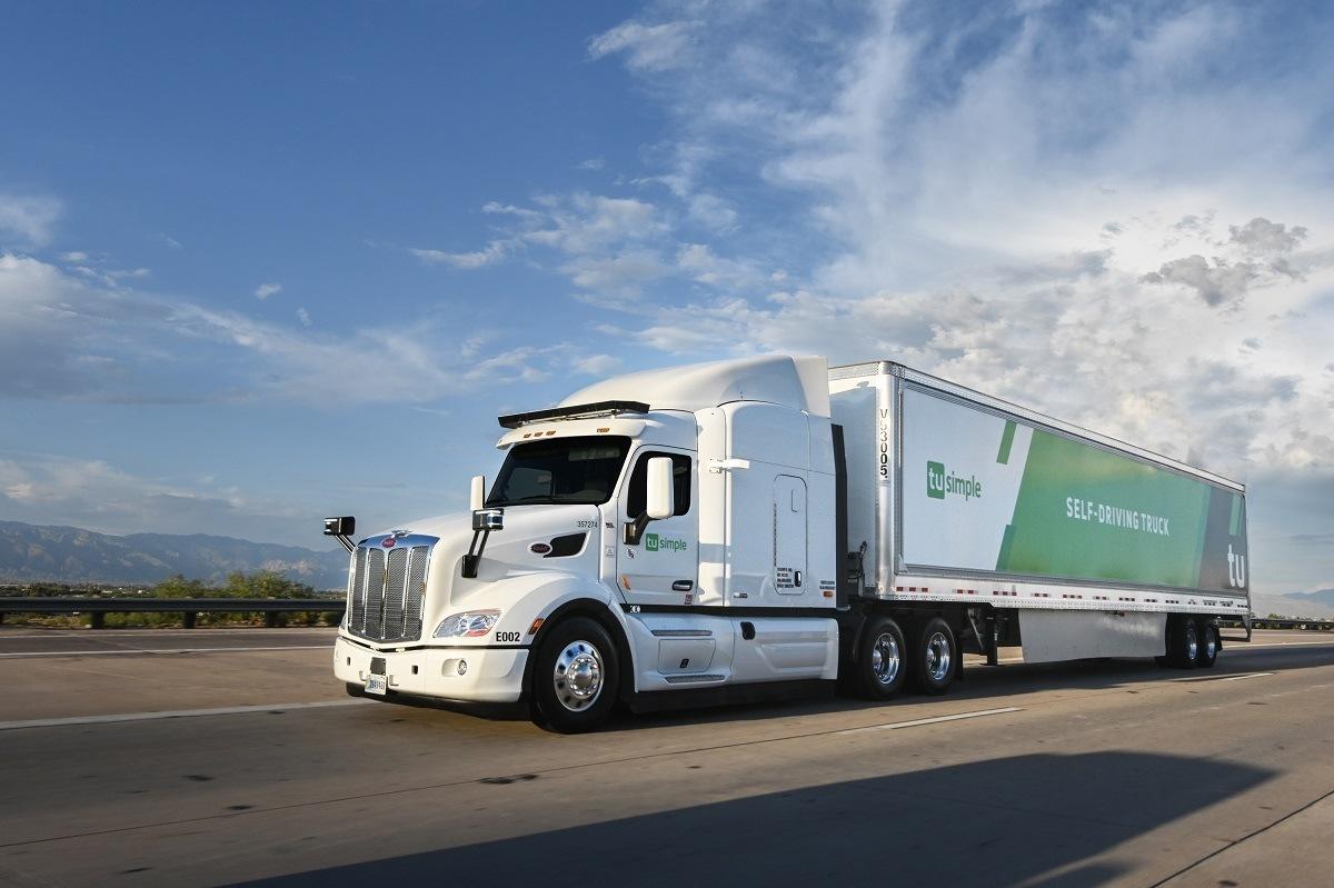 TuSimple autonomní kamion