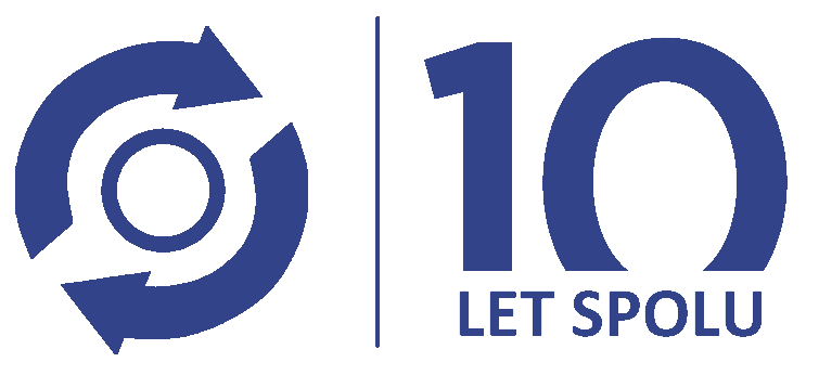 Motofocus 10 let logo
