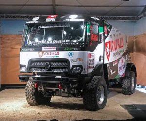 Severočeši v Holandsku představili první hybridní rallye kamion na světě