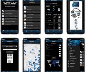 Dayco katalog v mobilní aplikaci