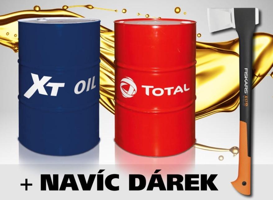 Motorové oleje XT a Total za akční ceny u Elitu