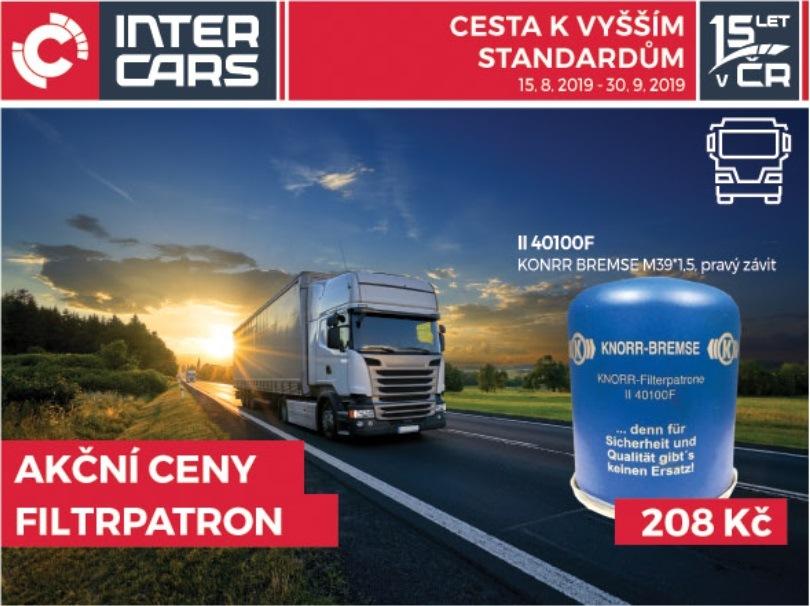 Akční ceny filtrpatron u Inter Cars